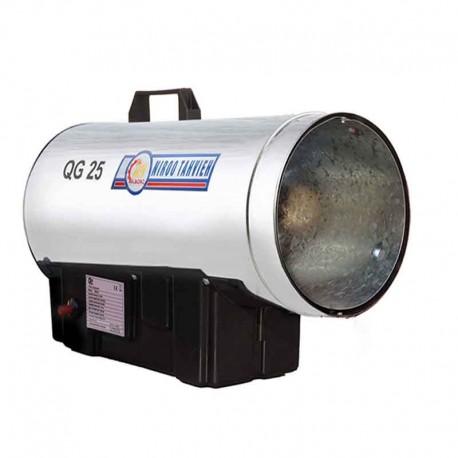 جت هیتر 25 کیلو وات گاز مایع نیرو تهویه البرز مدل QG25