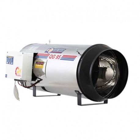 جت هیتر 95 کیلو وات گازی نیرو تهویه البرز مدل QG95