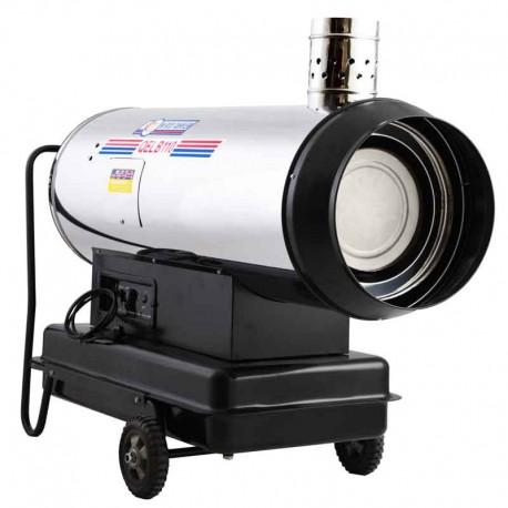 جت هیتر 95 کیلو وات گازوئیلی باکدار نیرو تهویه البرز مدل QLB95