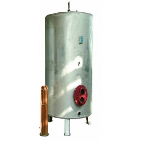 منبع کویل دار 600 لیتری ورق 8