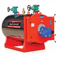 دیگ فولادی آب گرم دو پاس 1250000 آب بند